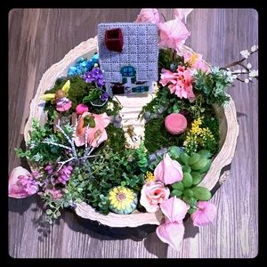 INDOOR FAIRY GARDEN - OFFERS WELCOMED